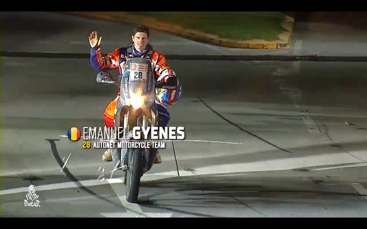 Românul Mani Gyenes termină pe locul 23 cel mai dur Dakar din America de Sud