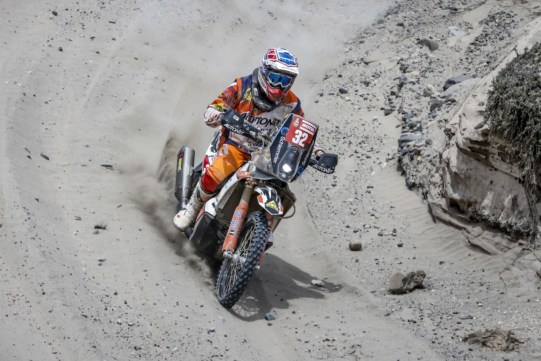 Mani Gyenes in timpul etapei 3 din akar 2019