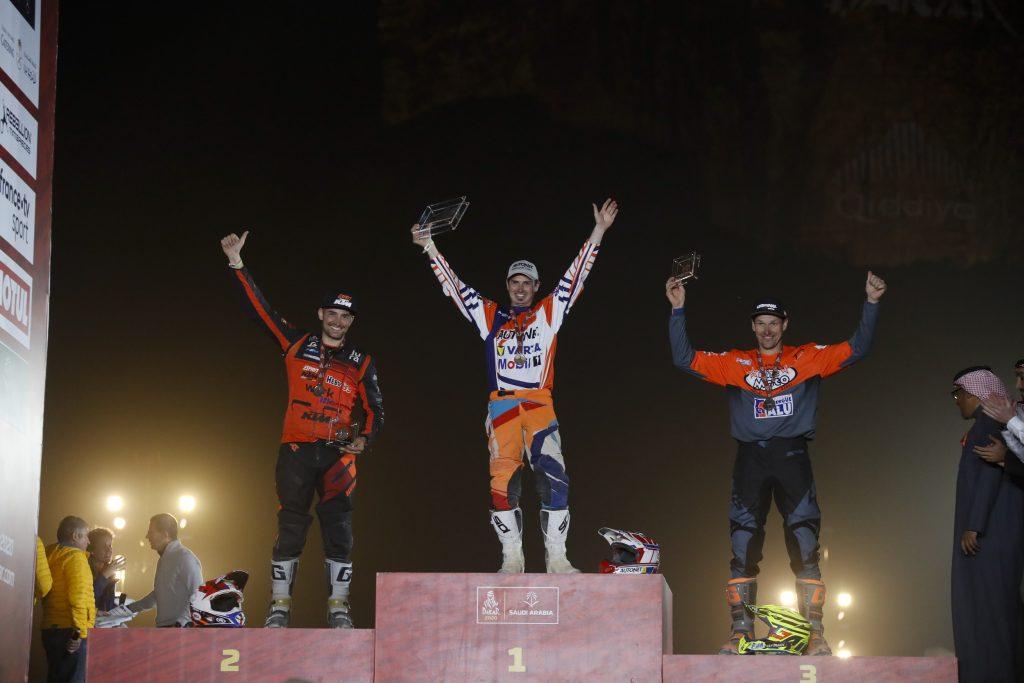 Mani Gyenes castiga Dakar 2020 la clasa Malle Moto - Original