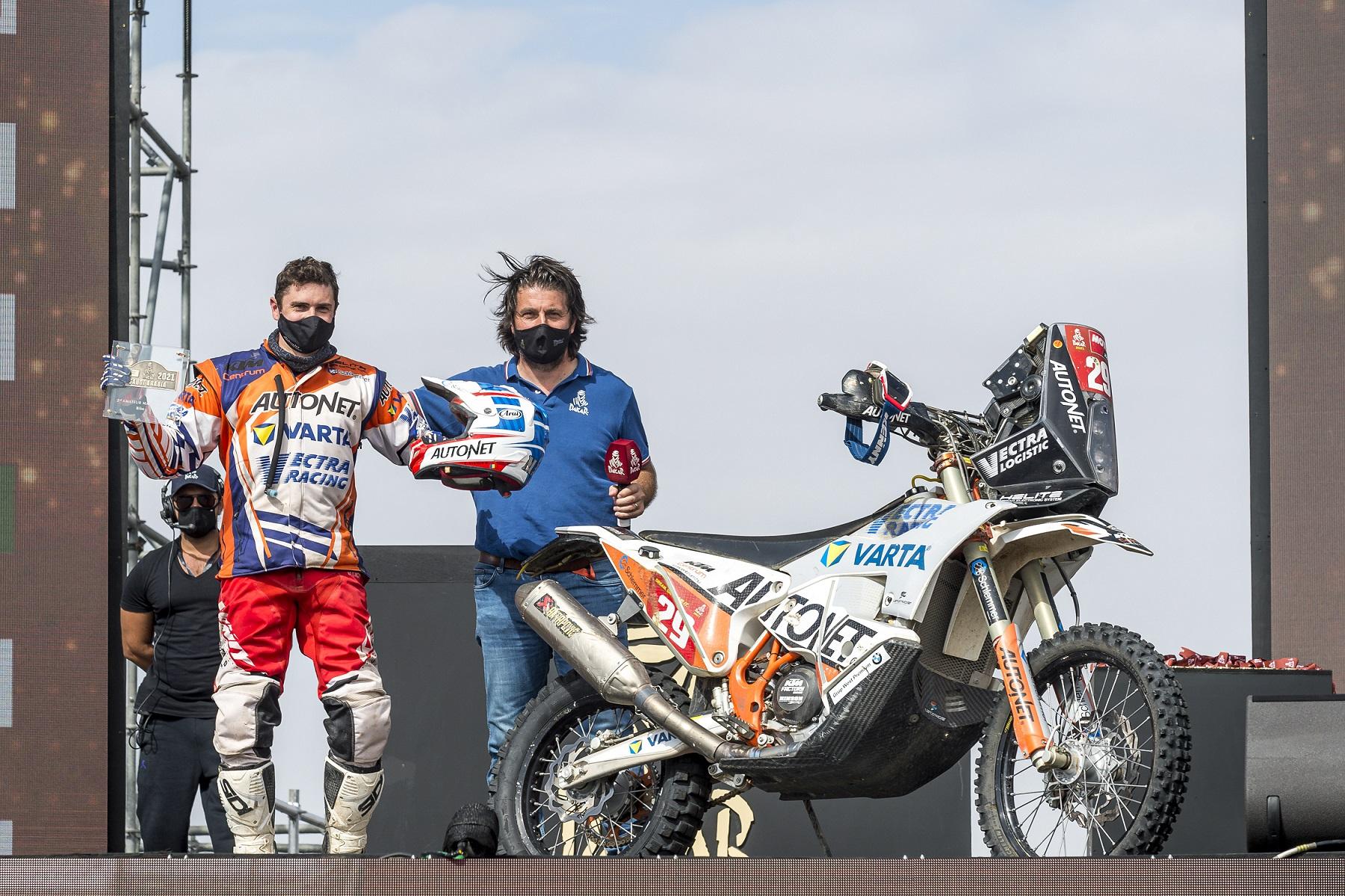 Mani Gyenes dublu premiat la Dakar 2021